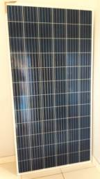 Painel solar intelbras de 330w com controlador de carga de 30amper.