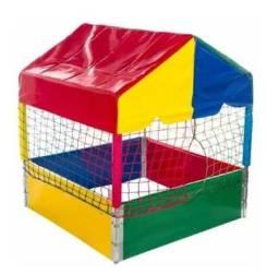 Para crianças: Piscina de Bolinhas de 1m para Casa ou Apartamento