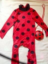 Vendo fantasia infantil ladybug