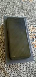 Celular Lgk50s na caixa