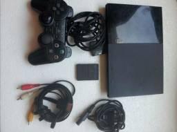 Playstation 2 slim usado