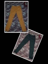 Combo duas calças jeans strech Tam 42