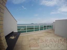 Cobertura com 314m² com linda vista para o mar