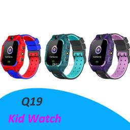 Relógio infantil com localizador GPS, chamadas, botão S.O.S