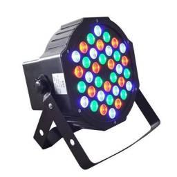 Jogo de luz/Refletor canhão LED mini par(garantia)