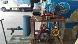 Bomba De Diafragma + Motor - Sistema Para Irrigação Esterco