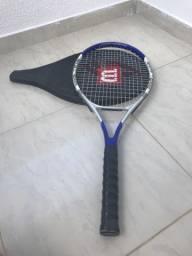 Raquetes de tênis Vermelha e Azul