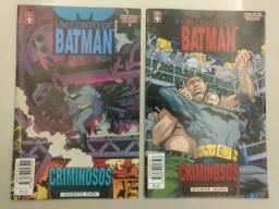 Batman - Um conto de Batman - Criminosos 2 ediçoes