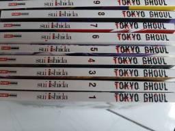 Mangá Tokyo Ghoul $18,00 cada.