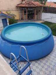 Piscina Intex 14 mil litros