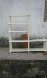 Platileira de centro  em madeira