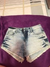 Vendo short jeans da marca la vertu usado apenas uma vez