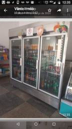 Vendo geladeira expositor toda inox