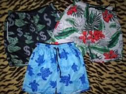 Shorts estilo praia mauricinho
