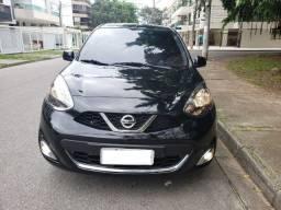 Nissan March - 1.6 Modelo SL Câmbio CVT Bancos de Couro - 2017 - TOP de Linha