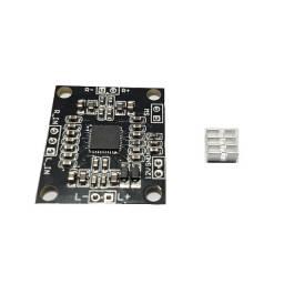 Modulo amplificado pam 8610 - 10 +10w / 12v com dissipador