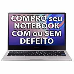 Com pro notebook com ou sem defeito