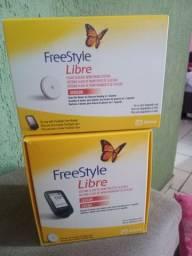 Leitor FREESTYLE LIBRE tecnologia avançada de informações rápido.