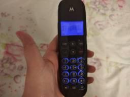 Telefone sem fio morotola com secretária