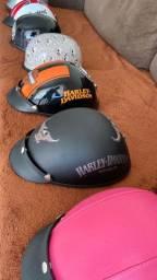 Capacetes personalizados ( scooter elétrica / harley elétrica / patinete elétrica