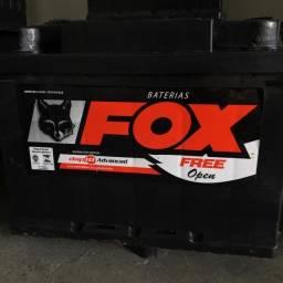Bateria FOX 60AH Seminova (entrega e instalação grátis)