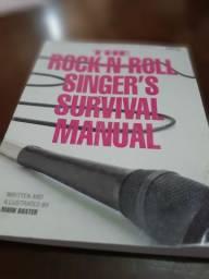Livro Rock-n-Roll Singer's Manual Survival