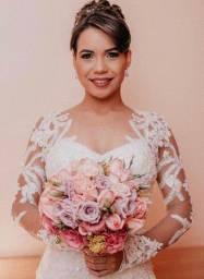 Alugo vestido de noiva novinho!