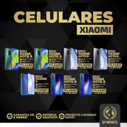 Celulares Xiaomi disponíveis (lacrado C/garantia)