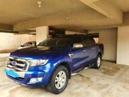 Ford ranger 3.2 limited cab. Dupla 4x4 automática. 4 portas, diesel- Azul