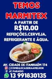 Marmitex para obras em contrução em obras!!!