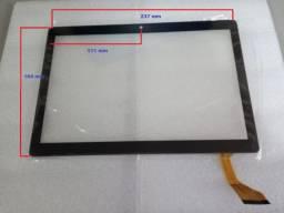 """Tela Touch Preta Tablet 10.1"""" Mediatek"""