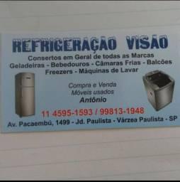 Refrigeração Visão- Conserto em Eletrodomésticos