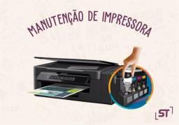 Manutenção  impressora Epson e Canon ...