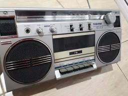 Rádio gravador Bombox. Novissimo!!!