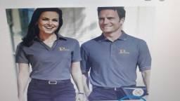 Camisetas personalizadas e uniformes profissional