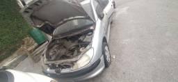 Peugeot 206 2001 sucata