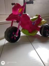 Moto elétrica bandeirante, infantil