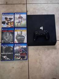 PS4 PRO 1Tb + 6 jogos