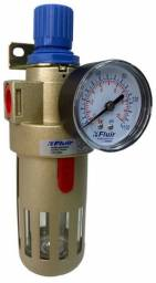 Filtro De Ar C/ Regulador 1/2 Fluir - P/ Compressor Fluir