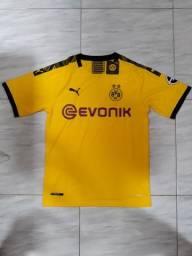 Camisa Borussia Dortmund Home 2019-2020 - Tamanho M