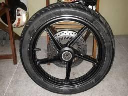 Roda completa twister 350,00