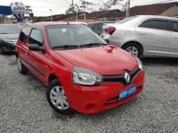 Renault Clio 1.0 autentic 2014 impecavel baixo km R$15900 avista ou troca financia 100%