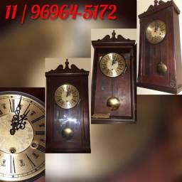 Peça de Colecionador - Relógio Parede Carrilhão Eska