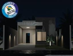 Casa nova Financiada por R$ 135.000,00