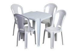Jogos de mesa com 4 cadeiras tramontina