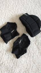 Protetor de pescoço e luvas Dye Black