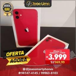 IPHONE 11, 256GB, RED, SEMINOVO, OFERTA