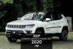 Jeep Compass Limited 2.0 Diesel 4x4 aut. | Pack High-Tech | 2020