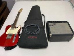 Guitarra fender telecaster squier standard Indonésia
