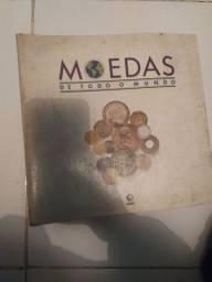Álbum moedas Globo